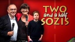 """Die SPD-Chefs Norbert Walter-Borjans, Saskia Esken und der Juso-Vorsitzende Kevin Kühnert sind """"Two and a half Sozis"""""""