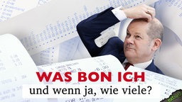 """Olaf Scholz in """"Was Bon ich und wenn ja, wie viele?"""" © NDR"""