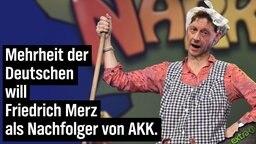 Mehrheit der Deutschen will Friedrich Merz als Nachfolger von AKK.