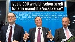 Ist die CDU wirklich bereit für eine männliche Vorsitzende?