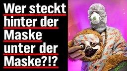 Wer steckt hinter der Maske unter der Maske?!?