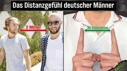 Das Distanzgefühl deutscher Männer
