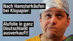 Nach Hamsterkäufen bei Klopapier: Alufolie in ganz Deutschland ausverkauft.