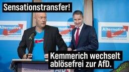 Sensationstransfer: Kemmerich wechselt ablösefrei zur AfD.