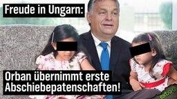 Freude in Ungarn: Orban übernimmt erste Abschiebepatenschaften!