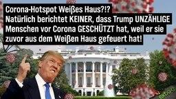 Corona-Hotspot Weißes Haus?!? Natürlich berichtet KEINER, dass Trump UNZÄHLIGE Menschen vor Corona GESCHÜTZT hat, weil er sie zuvor aus dem Weißen Haus gefeuert hat.