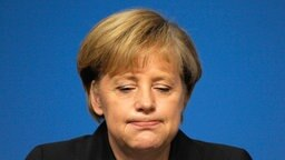 Angela Merkel © dpa Bildfunk Foto: Boris Roessler