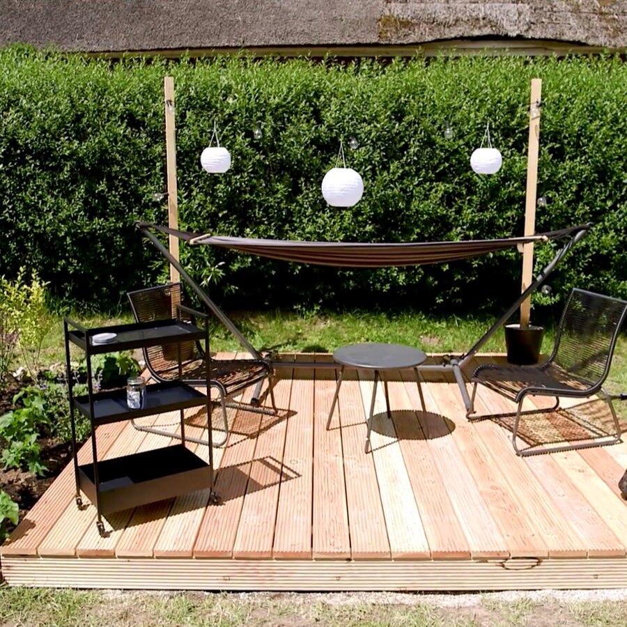 Eine Holzterrasse für den Garten bauen   NDR.de   Ratgeber   Garten