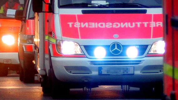 Vier Verletzte nach Unfall auf B76 - Sperrung aufgehoben