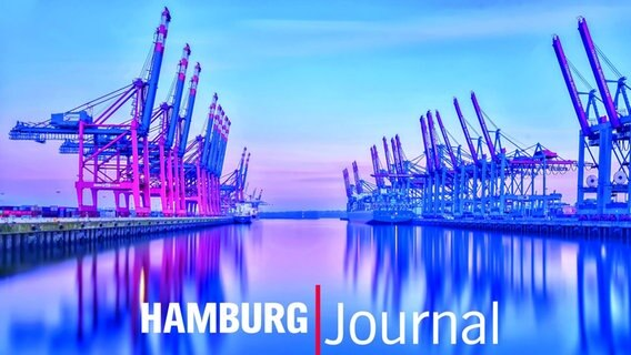 "Moderationskarte des ""Hamburg Journal"". © NDR"