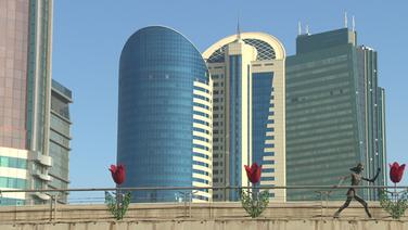 Architektur in Astana, Kasachstan