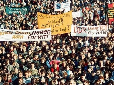 DDR friedlicher Protest