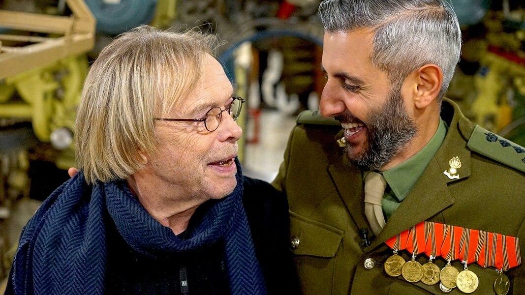 Abdollahi trifft Volker Lechtenbrink