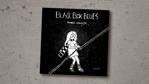 "Das Cover der Graphic Novel ""Black Box Blues"" von Ambra Durantes © Wallstein Verlag/ Ambra Durantes"