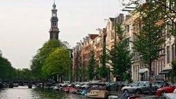 Gracht in Amsterdam. © © NDR/Thomas Schimmack