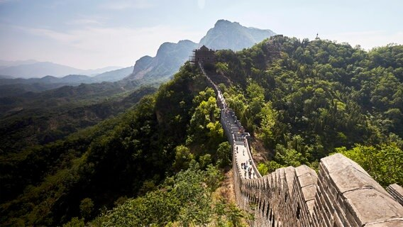 Der Great Wall Marathon.
