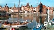 Stadthafen mit Möttlau und Krantor. © NDR/MoersMedia/Peter Moers