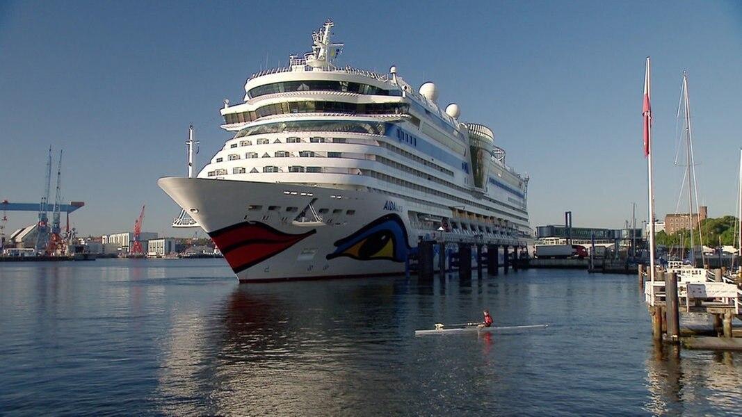 AIDA Cruises startet Kieler Kreuzfahrtsaison
