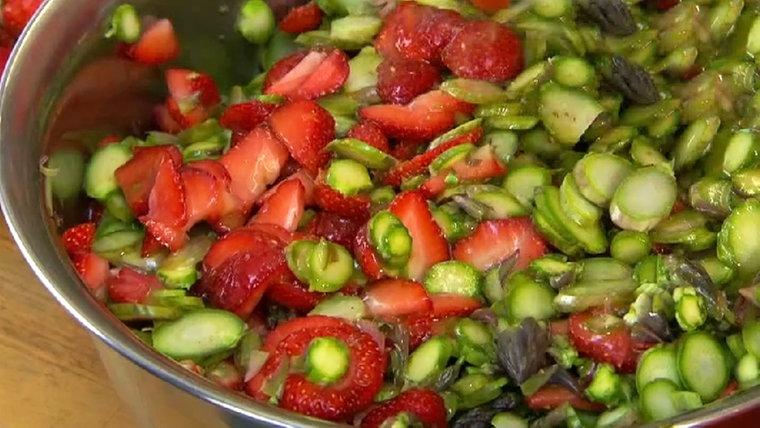 Rezept salat spargel