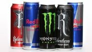Diverse Energydrinks © picture alliance / empics Foto: Jonathan Brady