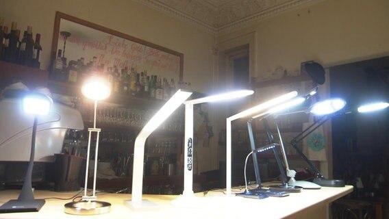 LED Lampen © NDR