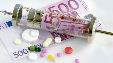 Kosten der Krankenversicherung © dpa-Report Foto: Michael Rosenfeld