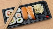 Sushibox Sushi © Fotolia.com Foto: Stockfotos-MG