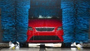 Auto in einer Waschanlage. © fotolia.com Foto: big-label