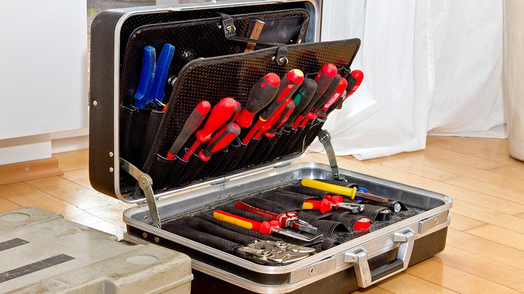 Gunstige Und Teure Werkzeugkoffer Im Test Ndr De Ratgeber
