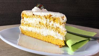 Kürbis-Birnen-Torte