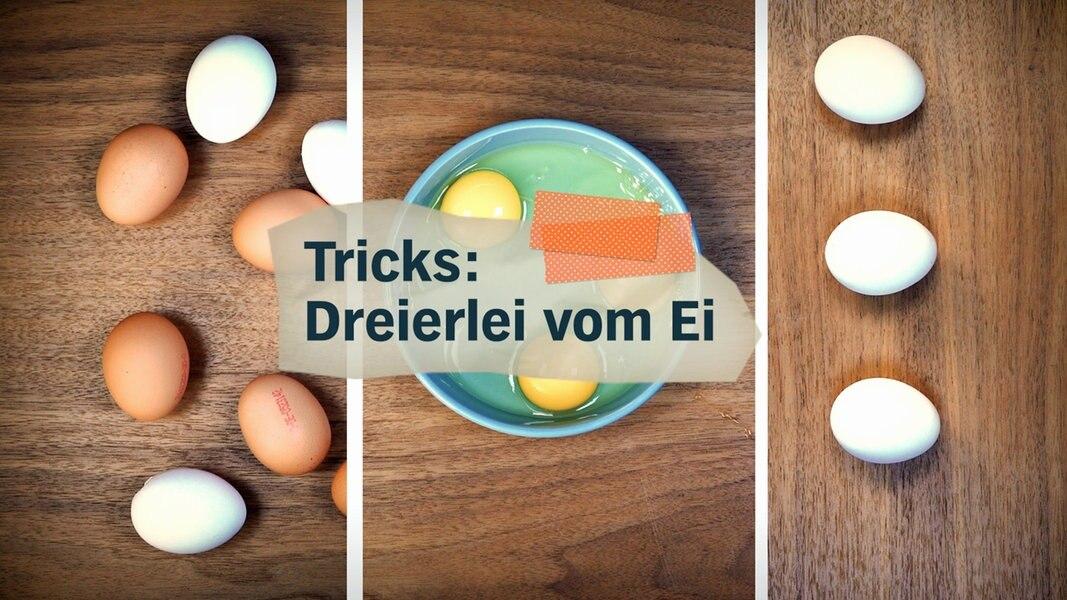 Zu ostern drei tricks mit eiern fernsehen for Mein nachmittag mediathek