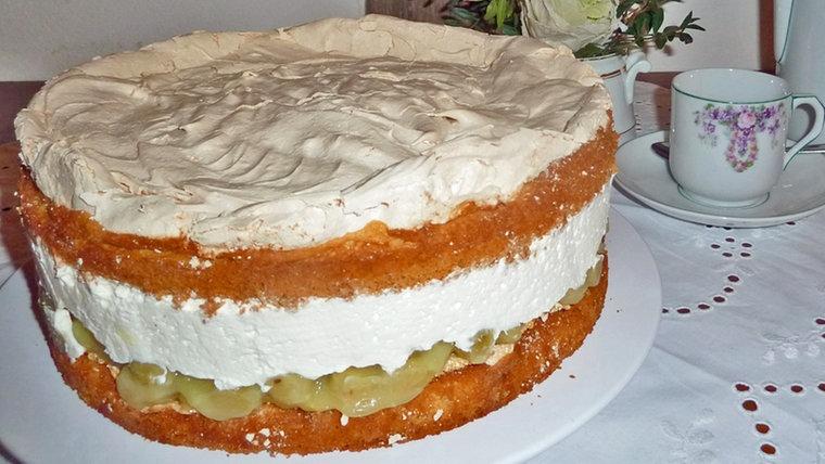 Stachelbeer baiser torte wdr