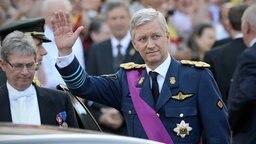 Der neue König von Belgien Philippe © picture alliance / dpa Fotograf: David Stockman
