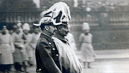 König Frederik VIII. (li.) und Kaiser Wilhelm II. © Picture-Alliance / Akg-Images