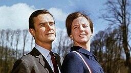 Graf Henri de Laborde de Monpezat und Prinzessin Margrethe von Dänemark Mitte der 1960er-Jahre © Picture-Alliance / dpa / Polfoto