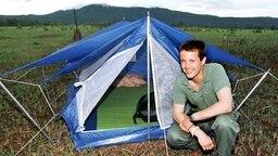 20. Mai 1997: Prinz Frederik bei einer Trekking-Tour in Thailand © Picture-Alliance / dpa / Polfoto