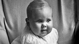 Margrethe II. von Dänemark als Baby, undatierte Aufnahme © Picture-Alliance / Illustrated London News Ltd