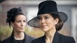 Kronprinzessin Mary und Prinzessin Marie von Dänemark © dpa Picture Alliance / Dutch Photo Press Fotograf: Patrick van Katwijk