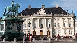 Schloss Amalienborg in Kopenhagen. © Picture-Alliance / dpa
