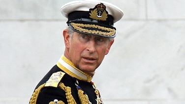 Prinz Charles in Uniform bei einer Gedenkveranstaltung zum Falklandkrieg im Jahr 2007 © Picture-Alliance / dpa / RoyalPress Fotograf: Nieboer