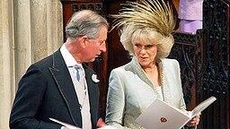 9. April 2005: Charles und Camilla während der kirchlichen Zeremonie anlässlich ihrer Trauung © dpa / Bildfunk Fotograf: Chris Young