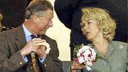 Prinz Charles und Camilla Parker Bowles im August 2004 bei den Mey Games in Caithness © Picture-Alliance / dpa