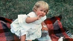 Prinzessin Diana als Kleinkind. © picture alliance/dpa