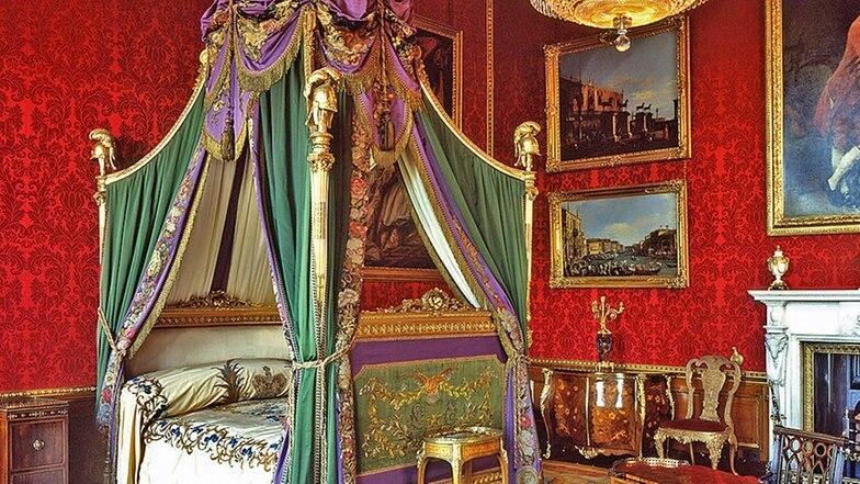 Uberlegen Königliches Schlafzimmer Auf Windsor Castle © 2009 Her Majesty Queen  Elizabeth II Fotograf: Mark Fiennes
