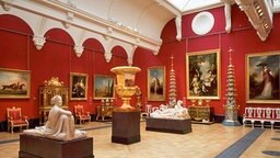 Die Nash-Galerie im Buckingham Palast © 2009 Her Majesty Queen Elizabeth II