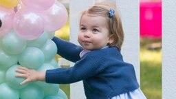 Prinzessin Charlotte auf einer Kinderparty in Kanada im September 2016. © dpa - Bildfunk Fotograf: EPA/STR