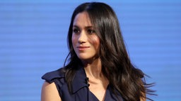 "Meghan Markle beim ersten ""Royal Foundation Forum"" in London am 28. Februar 2018. © picture alliance / Photoshot"