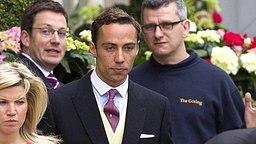 James Middleton am 29. April 2011 an der Westminster Abbey. © picture alliance / empics