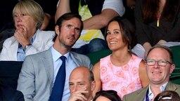 Pippa Middleton mit James Matthews © picture alliance / empics Fotograf: Anthony Devlin
