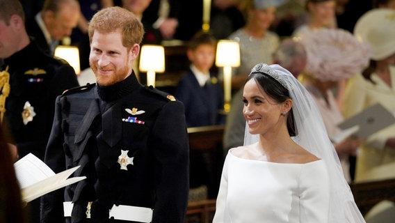 Prinz Harry Und Meghan Markle Hochzeit In Windsor Ndr De